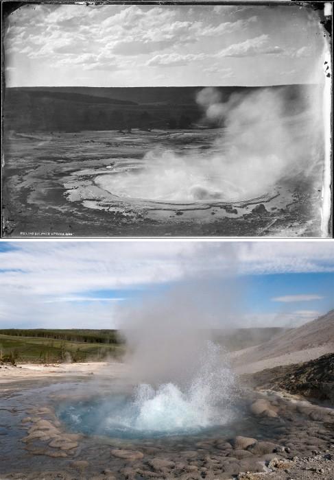 Image: Yellowstone's Sulphur Spring
