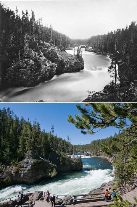 Image: Yellowstone's Upper Falls