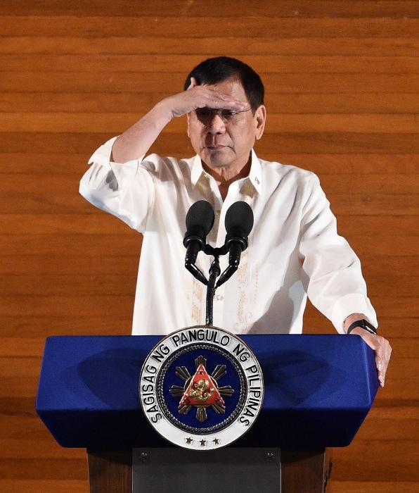 Image: FILES-PHILIPPINES-POLITICS-DUTERTE