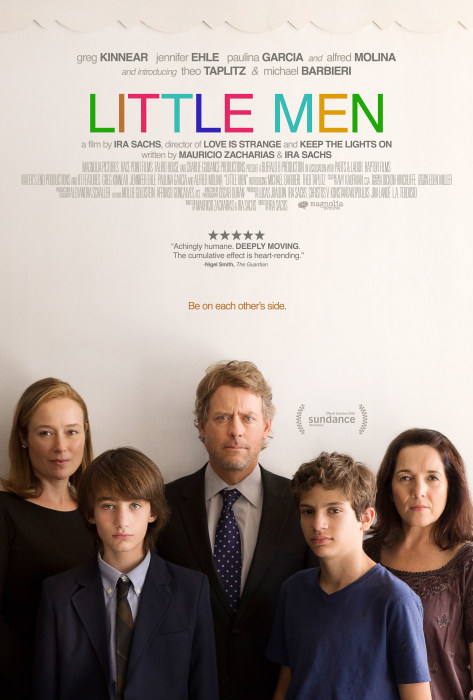 Theatrical one-sheet for LITTLE MEN, a Magnolia Pictures release.