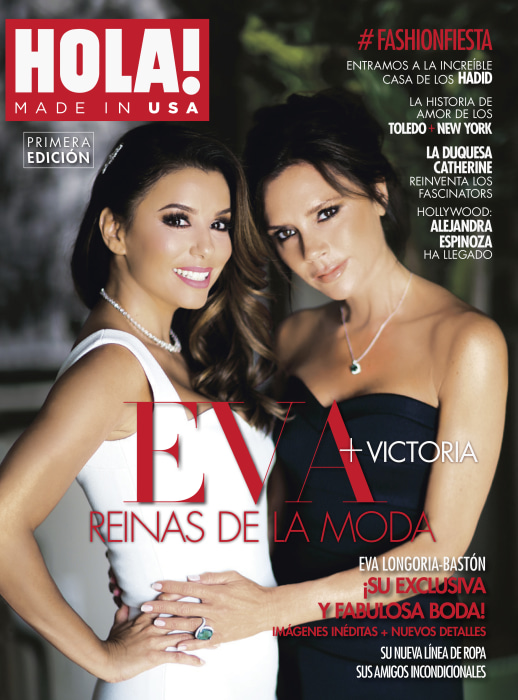The first cover for HOLA! USA.