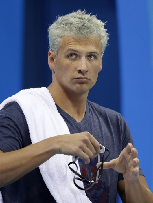 Image: Ryan Lochte on Aug. 9, 2016