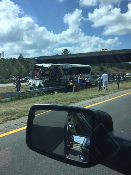 North Carolina Bus Crash