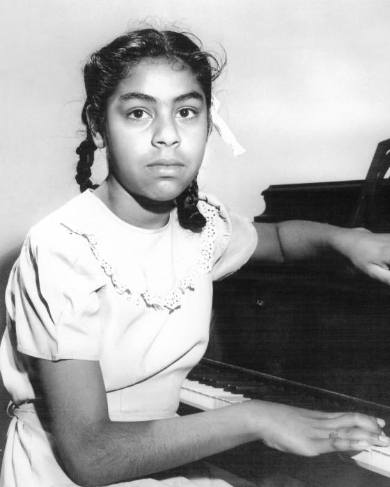Sylvia Mendez, age 10, the plaintiff in Mendez v. Westminster case.