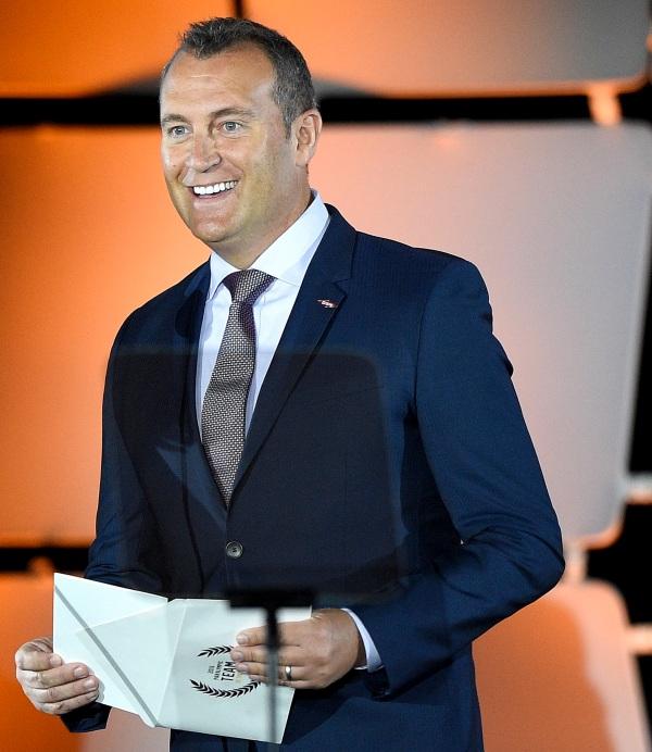 Louis Vega presents Team USA Awards