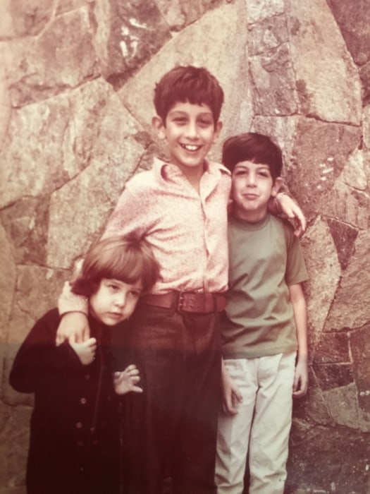 The Kaufman siblings as siblings.