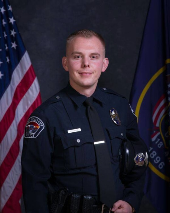IMAGE: West Valley City police Officer Cody Brotherson