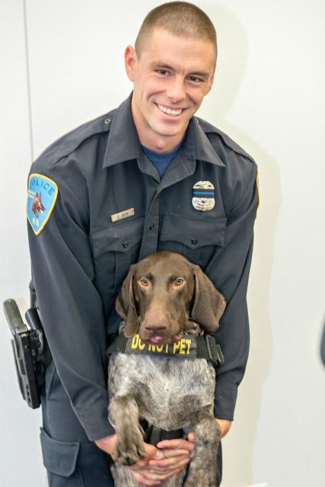 IMAGE: Wayne State University police Officer Collin Rose