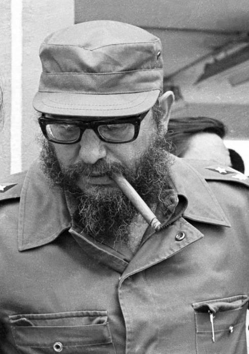 Image: Fidel Castro in 1978
