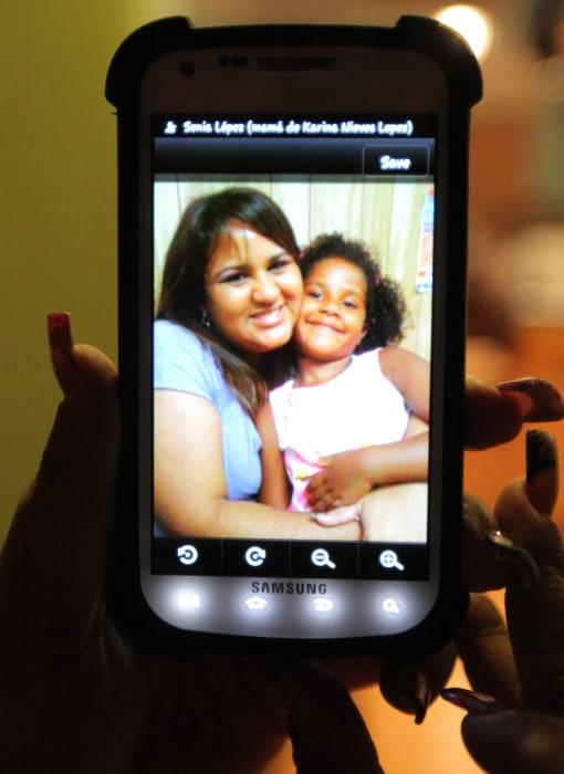 Ana M. Marquez-Greene pictured with her aunt, Mara Marquez.