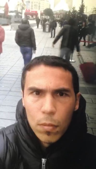 Image: The main suspect in the Istanbul nightclub rampage