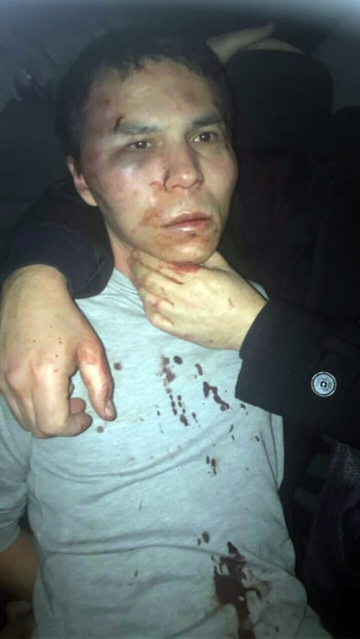 Image: Istanbul Reina nightclub attacker arrested
