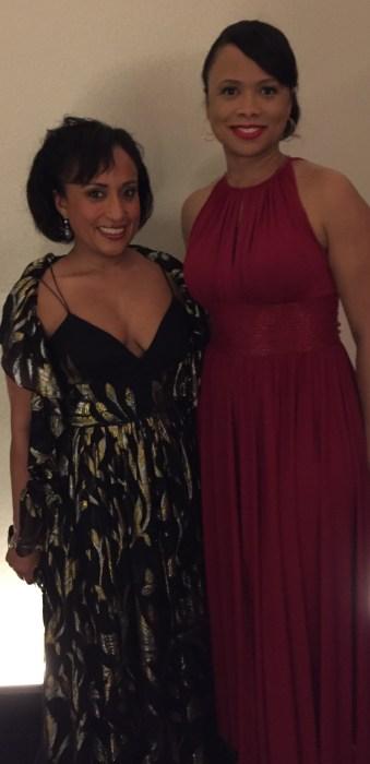 Carla Andrews and Selena Cuffe