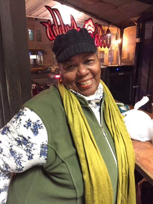 Image: Yvonne Smith, 68, whose son owns Oohs & Aahhs Soul Food on U Street in Washington, D.C.