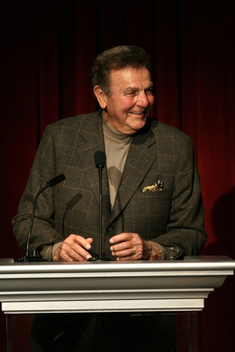 Image: Mike Connors during Academy of Television Arts & Sciences 60th Anniversary - Inside and Reception at Leonard H. Goldenson Theatre in North Hollywood, Calif.