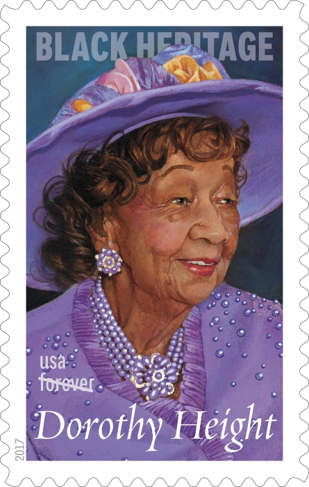 Dorothy Height Forever Stamp