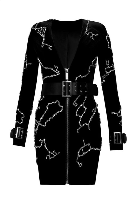 Image: A Google dress, by Ivyrevel, which tracks an individual's online data to create a one-of-a-kind design.