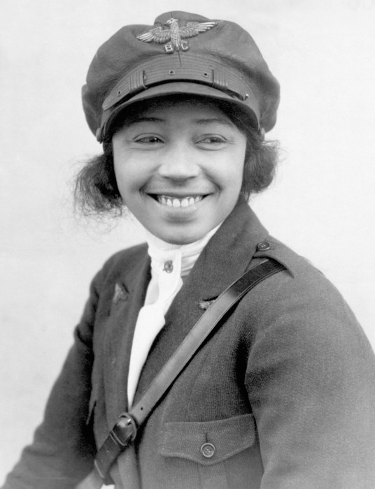 Image: Bessie Coleman is pictured on Jan. 24, 1923.