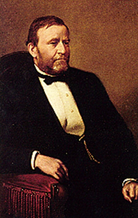 Image: A portrait of U.S. President Ulysses S. Grant