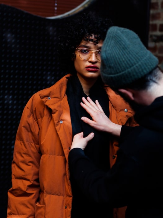 Indya Moore for OAK NYC.