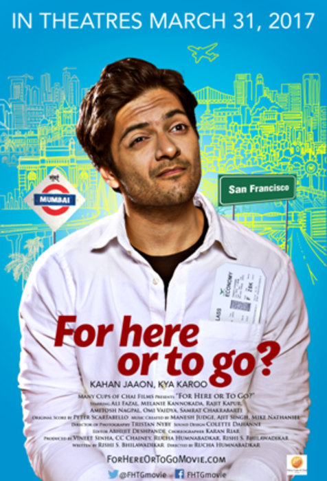 The poster for 'For Here Or To Go?'