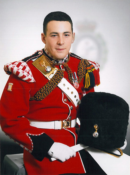 Image: Murdered British soldier Lee Rigby