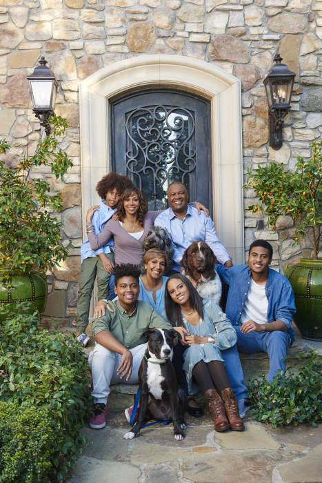 IMAGE: 'For Peete's Sake' family