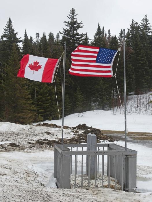 Image: US-CANADA-BORDER