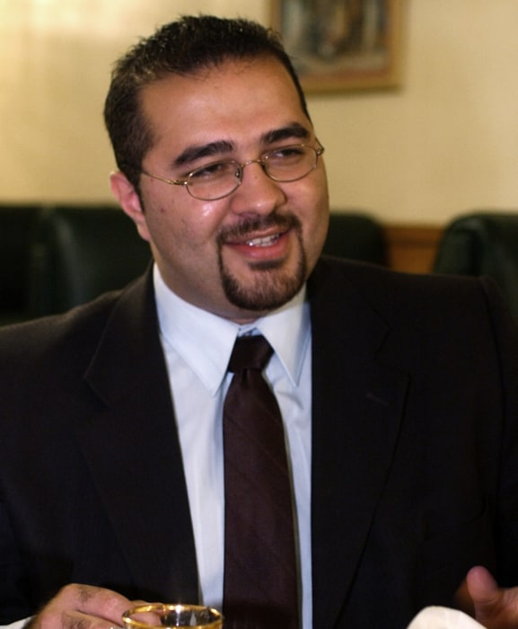 Image: Mohamed Khairullah, a Borough Council member in Prospect Park, New Jersey, and the newly appointed mayor, is seen during an interview on July 30, 2004