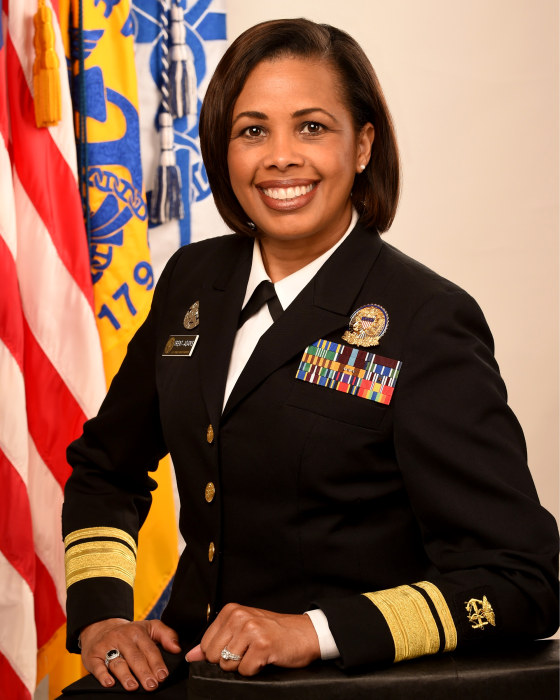 Image: Sylvia Trent Adams, acting Surgeon General