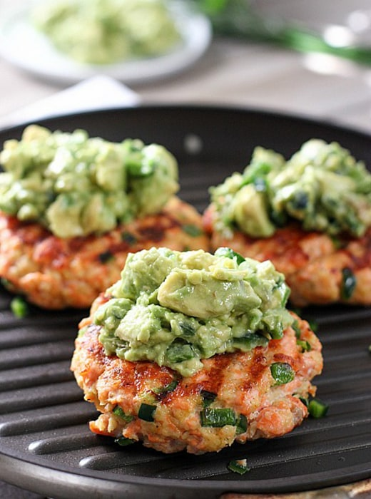 Image: Salmon Burgers