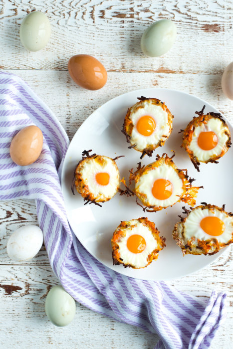 Image: Sweet Potato Hash Brown Egg Nests