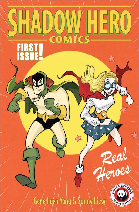Shadow Hero Comics #1 cover