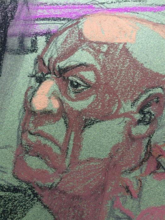Image: Bill Cosby listens during his trial at the Montgomery County Courthouse