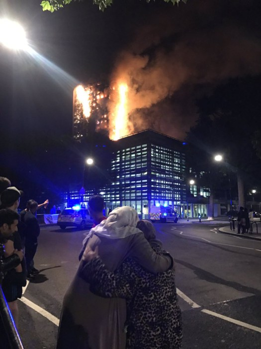 Image: Grenfell Tower fire