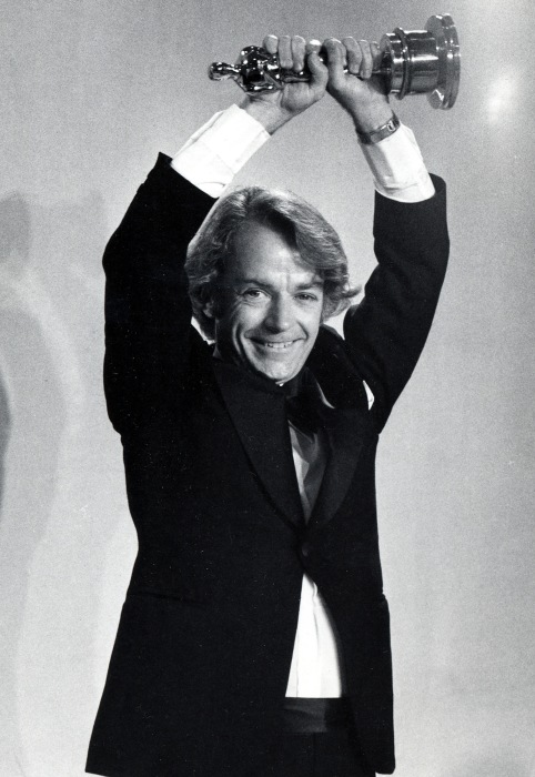 Image: John G. Avildsen at 49th Annual Academy Awards