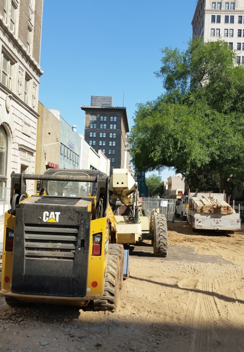 Image: Construction on Fulton Street