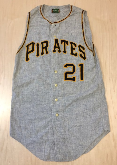 Image: Roberto Clemente 1960 World Series Jersey