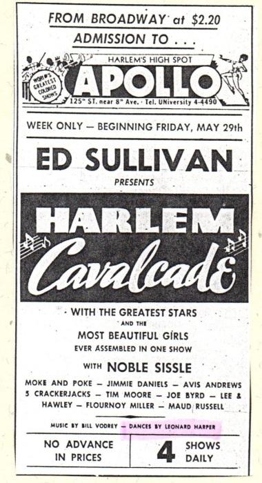 Image: Harlem Cavalcade Announcement