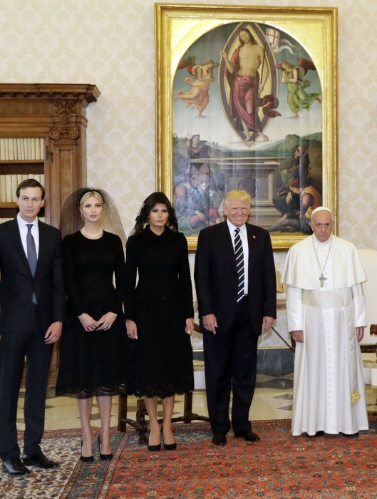 Image: U.S. President Donald Trump visits the Vatican