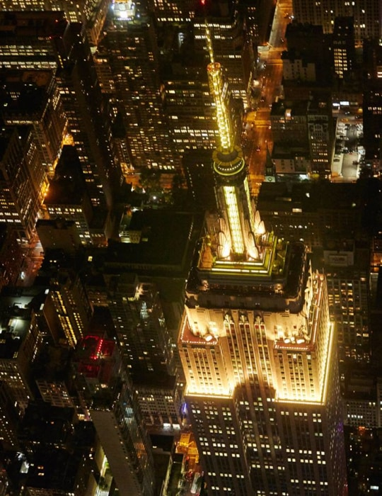 Image: Golden Empire State Building
