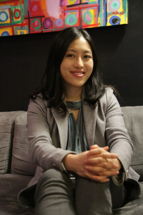 Image: Sally Hwang, co-founder and CEO of DocFlight, a company which uses technology to remotely connect doctors and patients otherwise separated by physical distance.