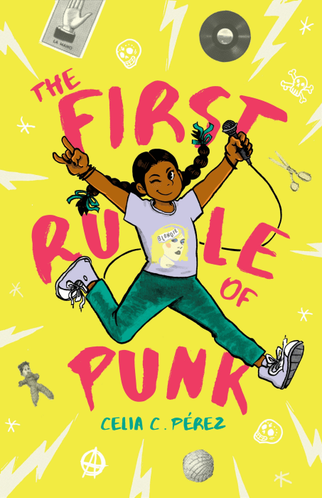 Image: The First Rule of Punk Book Cover