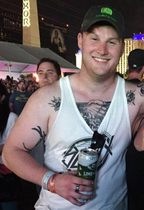 Image: Las Vegas shooting victim Jordan McIldoon