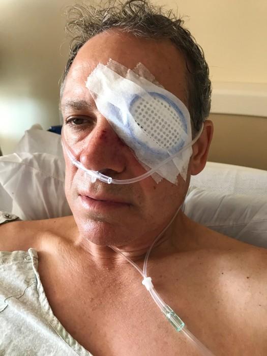 "Image: John ""Jay"" Loos, of Schaumburg in the hospital"