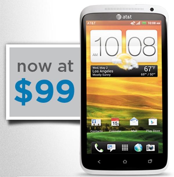 HTC One X $99