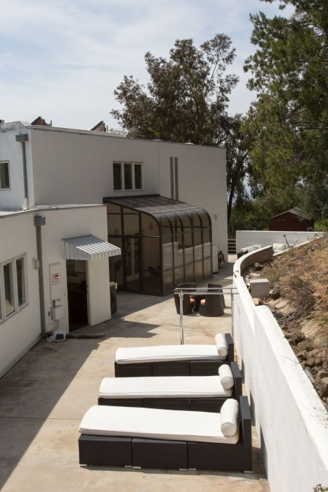 "Trebek built the 5,554-square-foot Hollywood Hills residence in 1984, the same year he started hosting ""Jeopardy!"""