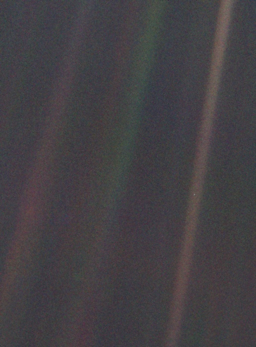 Image: Pale blue dot