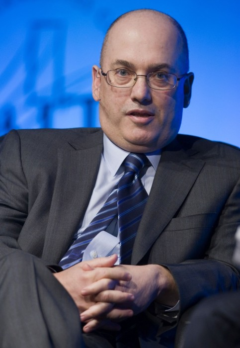 Hedge fund manager Steven A. Cohen, founder and chairman of SAC Capital Advisors, responds to a question during a one-on-one interview session at the ...