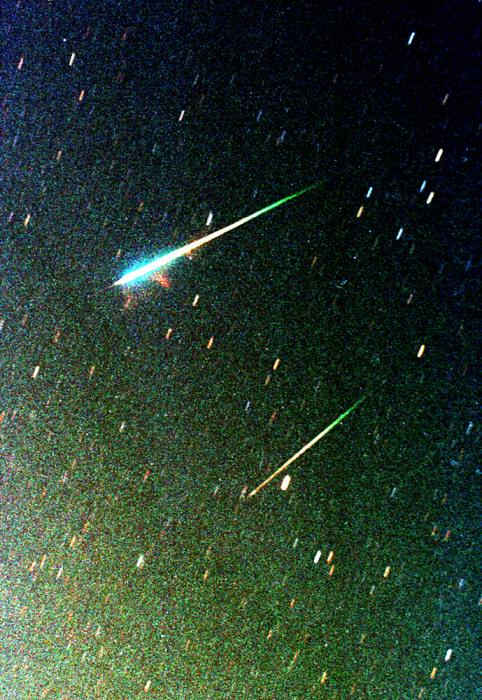 Image: Leonid meteors
